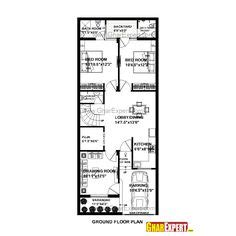 25by 50 plot size lay out plan house plan for 26 by 60 plot plot size 173 square yards gharexpert