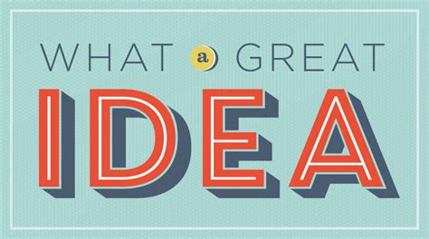 we want your great ideas scoville memorial library