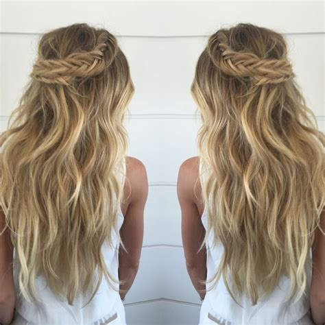 easy hairstyles with extensions cashmere hair stunning braids with cashmere hair clip