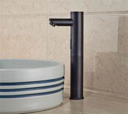 wadsworth touchless rubbed bronze bathroom sink faucet