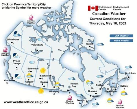 weather map of us and canada nws forecast info mountain weather