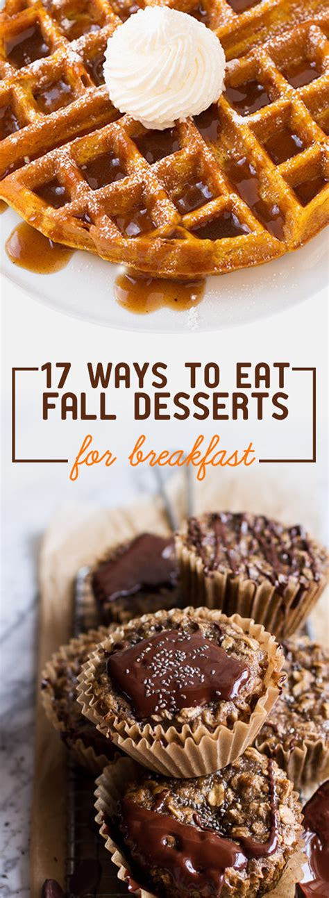 17 sweet things to make for breakfast this fall