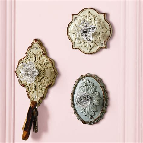 Knob Wall Hooks by Door Knob Wall Hooks Vintage Antique Style Resin