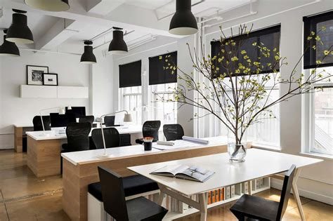 interior office design ideas follow only table tops on