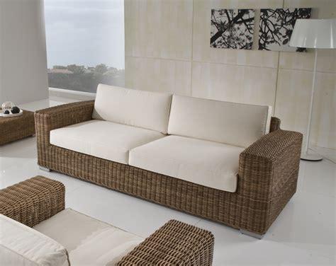 divani in rattan per interno divano giardino polyrattan idee per il design della casa