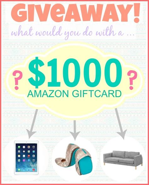 1000 Amazon Gift Card Giveaway - 1000 amazon gift card giveaway the girl who ate everything