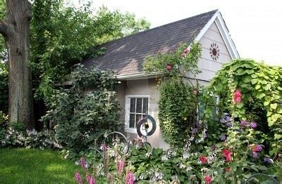 Small Cottage Gardens by Small Cottage In Beautiful Garden Cottage