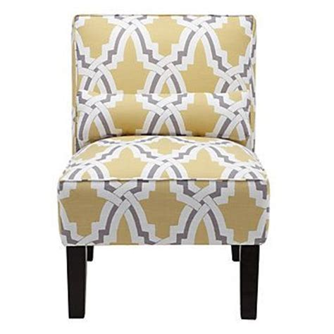 yellow and grey accent chair chairs chic and grey on