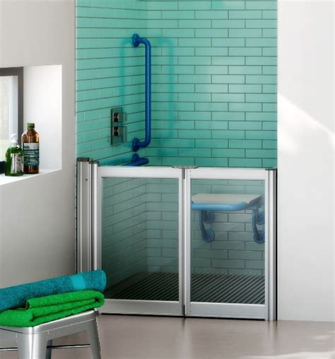 Aluseal Half Height Shower Doors Range Half Height Shower Doors
