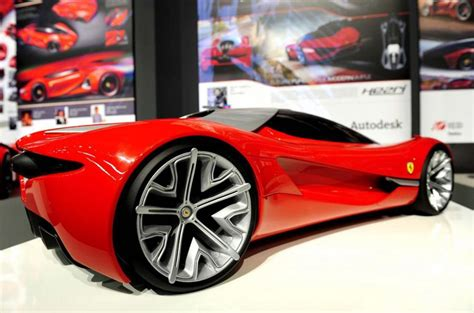 auto design contest ferrari s car of the future autocar