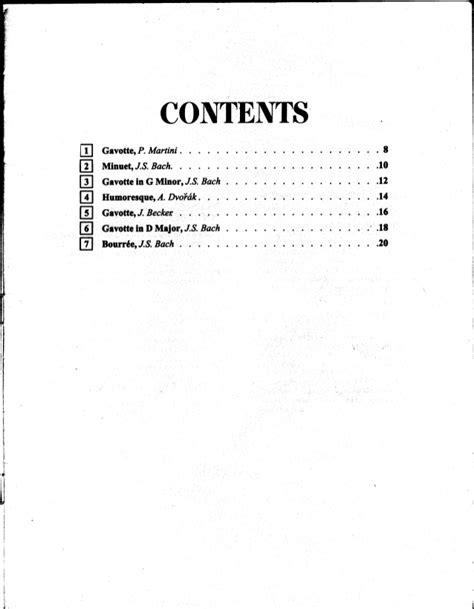 Gavotte Violin Suzuki Book 3 Suzuki Violin Method книга 3