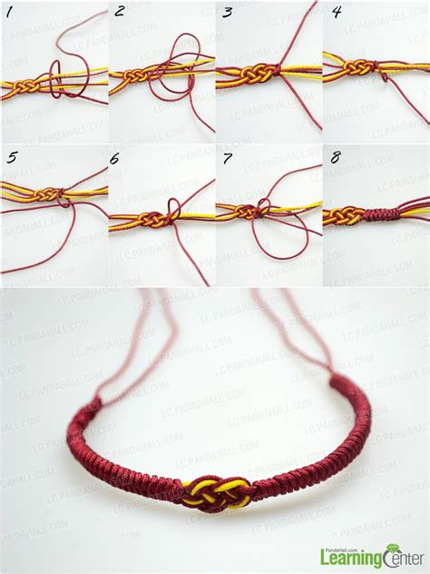 Easy String - how do you make easy knot friendship bracelet out of