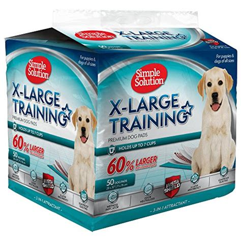 do puppy pads work simple solution and puppy pads large 50 count absorbs up to 6