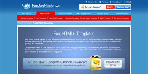 free html template code 7 resources for free html5 templates