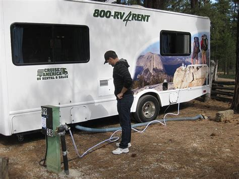 how to hook up and unhook your rv at a csite rv
