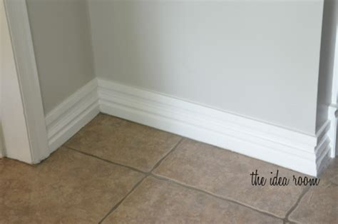 how tall should baseboards be how to make baseboards taller
