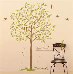 Large Decorative Wall Stickers by 70 Quot Large Tree Wall Decals Birds Decorative Vinyl
