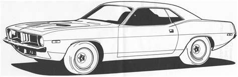 coloring page muscle cars muscle car coloring pages to download and print for free