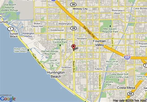 zip code map huntington beach ca 302 found