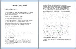 Land Rent Contract Template by Commercial Lease Contract Template Free Template Downloads