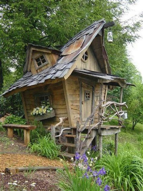 Whimsical Garden Sheds by Whimsical Topsy Turvy Shed Outdoor Structures