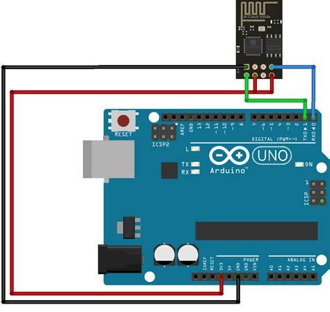 tutorial arduino wifi esp8266 cara konfigurasi wifi module esp8266 esp 01 dengan arduino