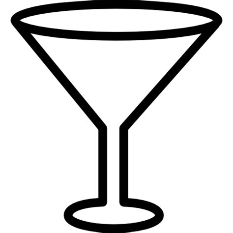 martini glass logo png empty cocktail glass free other icons