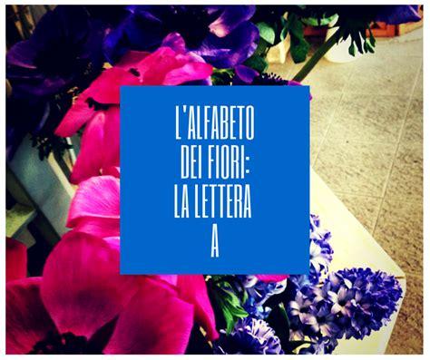 fiori con la lettera e l alfabeto dei fiori la lettera a