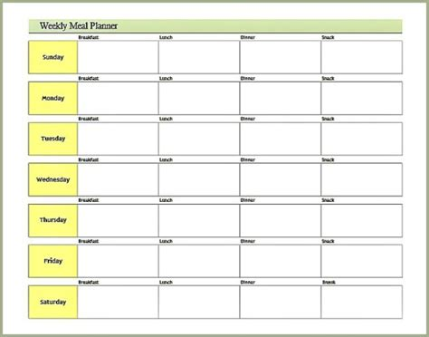 meal planning calendar template free printable meal plan templates calendar template 2016
