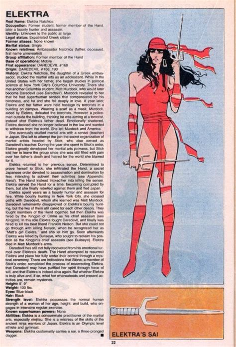 elektra by frank miller 0785195564 character model elektra by frank miller handbook of the marvel