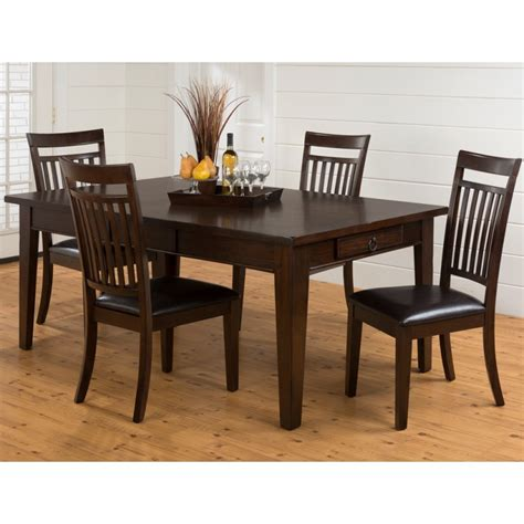 legacy dining room set legacy oak 5pc table and chair set eaton hometowne