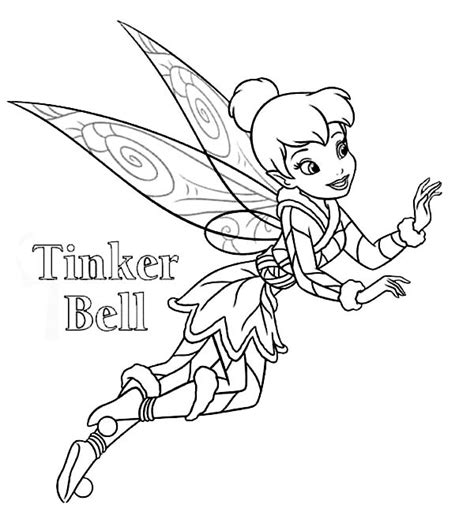 tinkerbell christmas coloring pages festival collections