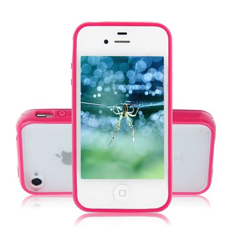 Iphone 4g4s Bumper Plat Mirror Backcase Hardcase Cover 3 tpu bumper frame matte frosted clear back cover pc for iphone 4 4g 4s color