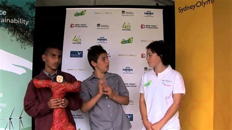 youth eco summit vox pops blacktown boys high school