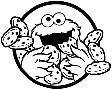 Cookies Coloring Pages free coloring pages of of the cookie