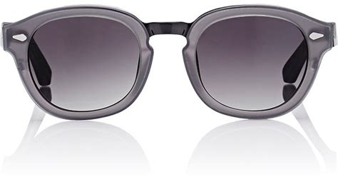 Moscot Lemtosh Polarized moscot s conrad sunglasses in gray for grey lyst