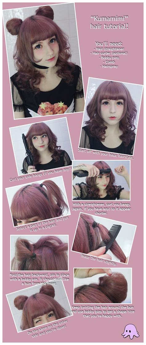diy anime hairstyles best 25 kawaii hairstyles ideas on pinterest diy cat