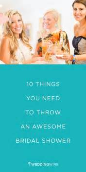 hosting a bridal shower here are 10 things you need to