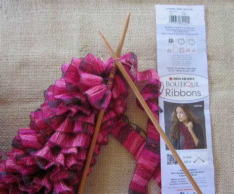 wendylynn s paper whims boutique ribbons yarn scarf