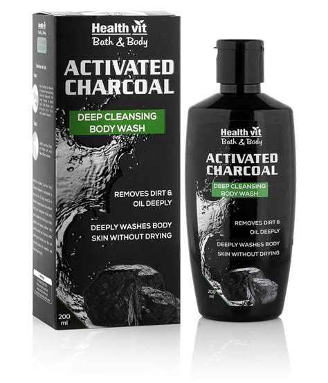 Pressery Detox Activated Charcoal Review by Healthvit Activated Charcoal Cleansing 200ml
