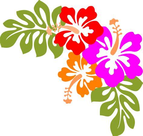 printable luau flowers luau clip art borders free clipart panda free clipart