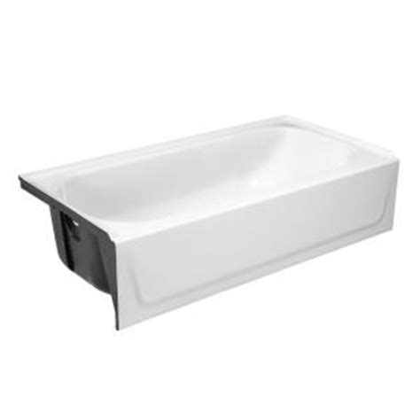 bootz bathtubs bootz industries bootzcast 5 ft left drain soaking tub in