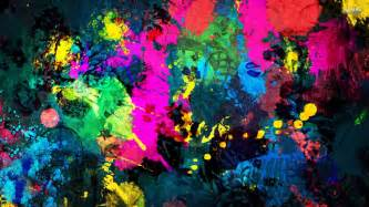 colorful images free colorful paint splatter wallpaper