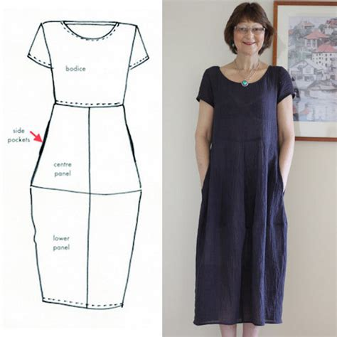 Pattern Review Eva Dress | tessuti eva dress pattern review by dilliander