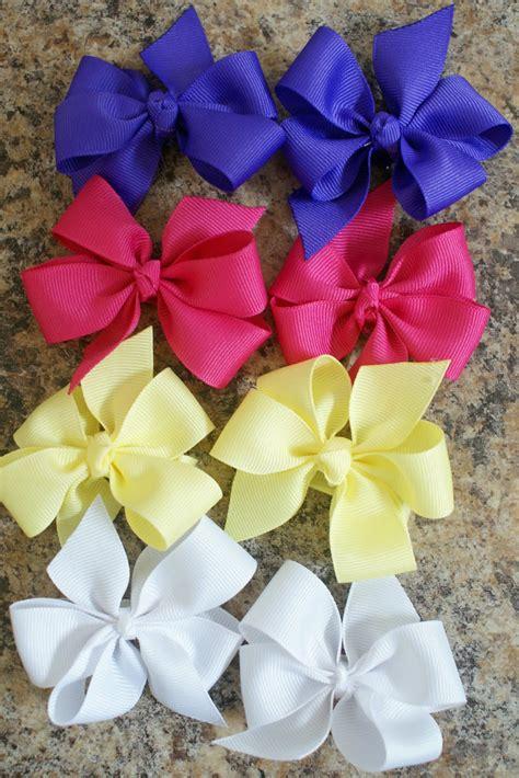 best bow making tutorial piggy bow tutorial