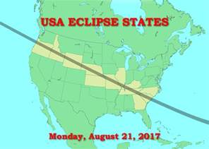 us map solar eclipse usa eclipse states american eclipse usa