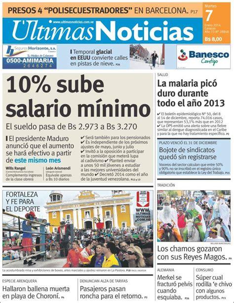 da del sur noticias peri 243 dico 218 ltimas noticias venezuela peri 243 dicos de