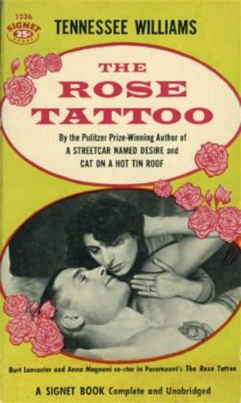 tennessee williams rose tattoo signet book covers 150 199