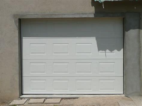 porte de garage prix porte de garage sectionnelle 40 mm sur mesure en kit 224