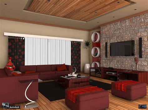 wohnzimmer 3d living room 3d model sharecg